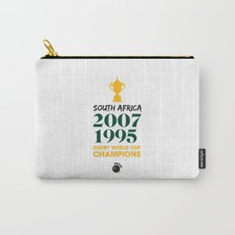Rugby World Cup Champions — South Africa Rugby Union side (Springboks) Carry-All Pouch