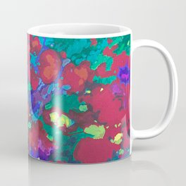 Summer garden red Coffee Mug