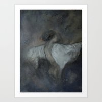 imagerybydianna Art Prints featuring morphē by Imagery by dianna