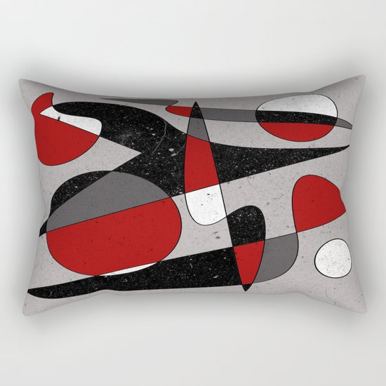 Abstract #106 Rectangular Pillow