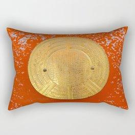 Land of the rising sun Rectangular Pillow