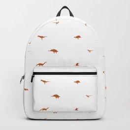 Tiny Dinosaur Pattern Backpack
