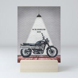 Scrambler 900 Motorcycle Mini Art Print