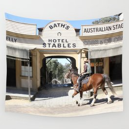 Cobb & Co Stables Wall Tapestry