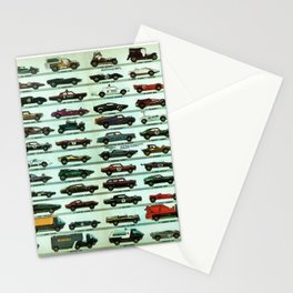 Vintage 1970 Hot Wheels Redline Poster Stationery Cards
