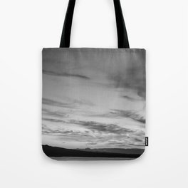 B&W Auckland Sunset Tote Bag