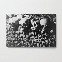 Catacombes Metal Print