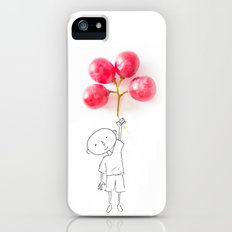 Grapes Ballons Slim Case iPhone (5, 5s)