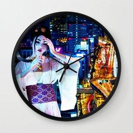 Kabuki - Circle of Blood Wall Clock