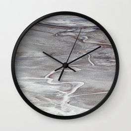 Death Valley Badwater Basin Wall Clock