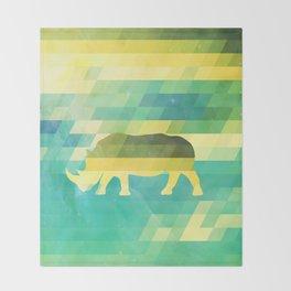 Orion Rhino Throw Blanket