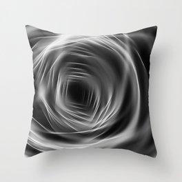 Revolving Tunnel Throw Pillow