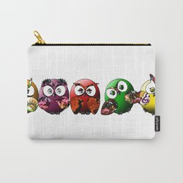 Owls Family Carry-All Pouch
