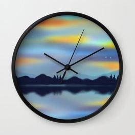 Sky Glow Wall Clock