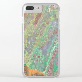 Dinosaur Egg Clear iPhone Case