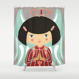 Zodiac - Virgo Shower Curtain