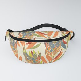 Protea pattern - wildflowers Fanny Pack
