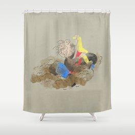 Ridin' Dirty Shower Curtain