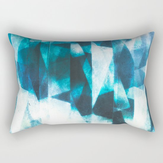 Icy icebergs Rectangular Pillow