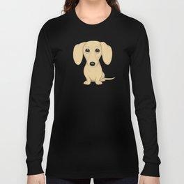 Shorthaired Cream Dachshund Long Sleeve T-shirt