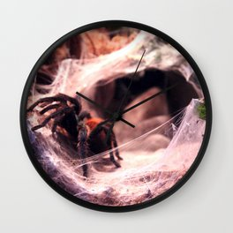 Lady Tarantula Wall Clock