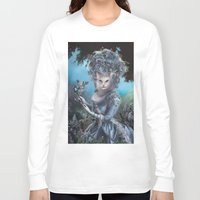marie antoinette Long Sleeve T-shirts featuring Marie Antoinette by Christina Hess
