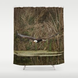 Fishin Mission Shower Curtain
