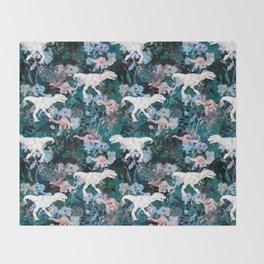 Jurassic Throw Blanket