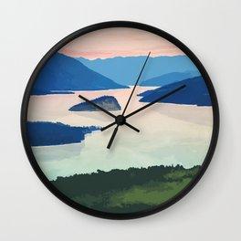 Shuswap Lake Provincial Park Wall Clock