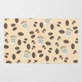 Coffee break Pattern Rug