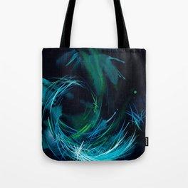 Where Time Falls Tote Bag