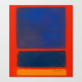 Rothko Inspired #7 Canvas Print