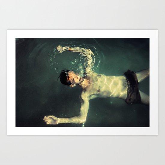 underwater II Art Print