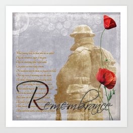 Remembrance Art Print
