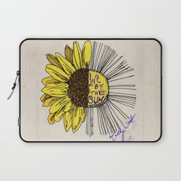 Live By the Sun Laptop Sleeve