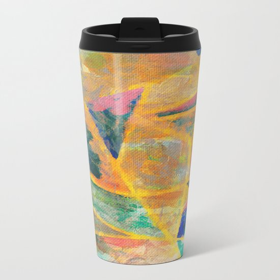 Jangadas 2 Metal Travel Mug