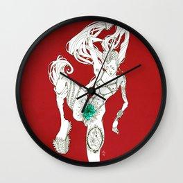 Delicadeza puntiaguda Wall Clock