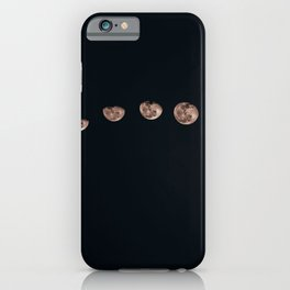 Moon Phase Photograph iPhone Case