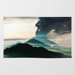 Mount Agung Volcanic Eruption Rug