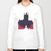 middle earth Long Sleeve T-shirts featuring Middle-earth: Shadow of Mordor by Michael Fisher