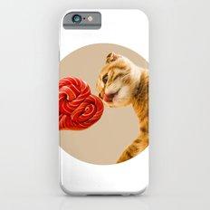 sweet cat iPhone 6s Slim Case