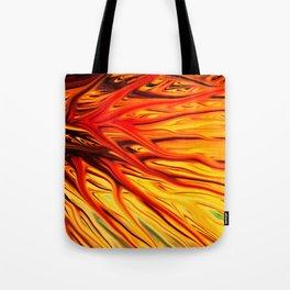 Orange Firethorn by Chris Sparks Tote Bag