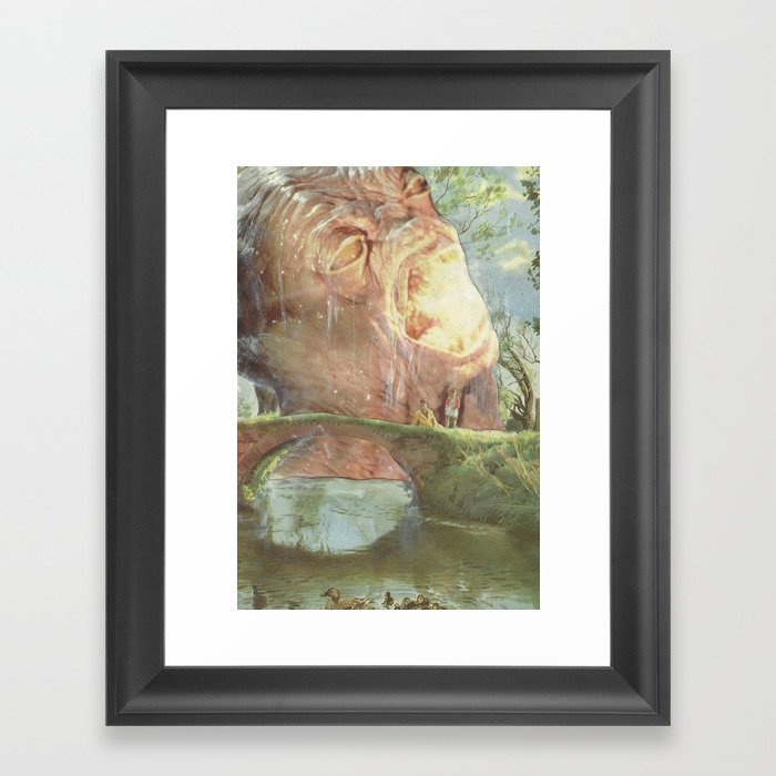 Well... The television said it was the right thing to do Framed Art Print