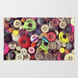 Button Jar Autopsy Rug