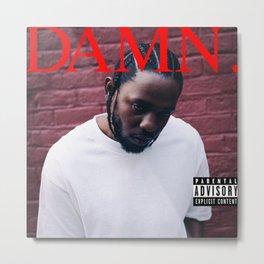 Kendrick Lamar - Damn Metal Print