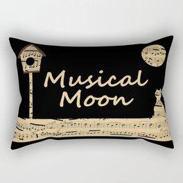 Musical Moon Rectangular Pillow