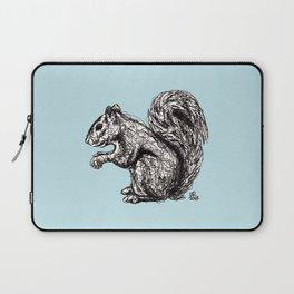 Blue Woodland Creatures - Squirrel Laptop Sleeve