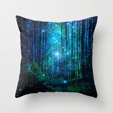 magical path Throw Pillow