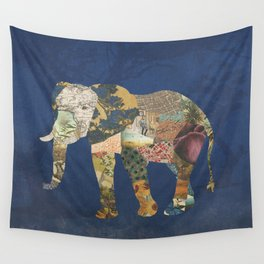 Elephant - The Memories of an Elephant Wall Tapestry