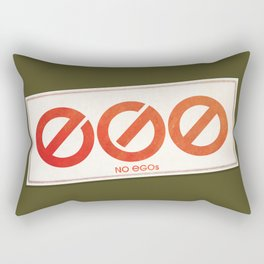 No EGOs Rectangular Pillow